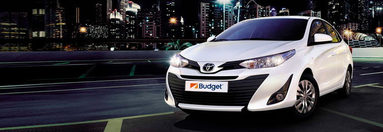 Make your next rental at Lima, Peru, a Toyota Yaris with Budget
