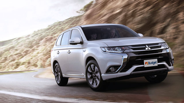 Mitsubishi Outlander from: